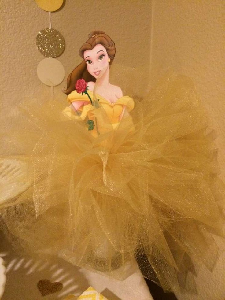 Pretty decor at a Beauty and the Beast birthday party! See more party ideas at CatchMyParty.com!