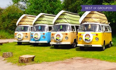 Retro VW Camper Hire in New Forest New Forest: 3 Night VW Camper Hire for up to Four People with New Forest VW Camper Hire  >> BUY & SAVE Now!