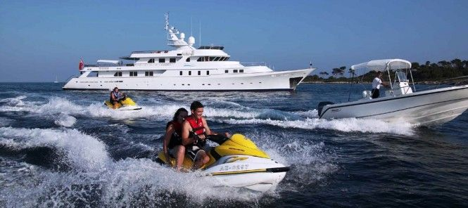 Special offer: Charter superyacht Shake n' Bake TBD at 50% off in the Caribbean