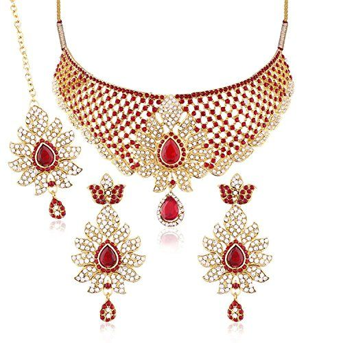 Red Stone Indian Bollywood Style Gold Plated Ethnic CZ Tr... https://www.amazon.com/dp/B06Y4JSCN8/ref=cm_sw_r_pi_dp_x_ftLjzbYT8BS0J