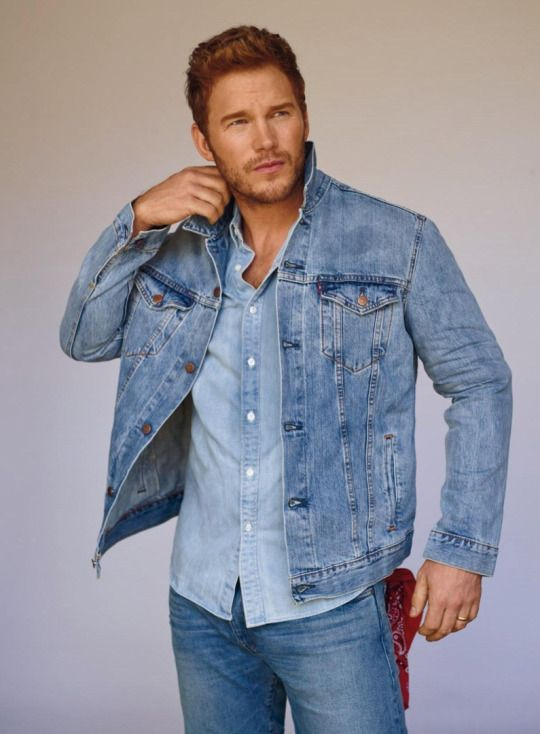 Chris Pratt by Thomas Whiteside for InStyle, September 2016
