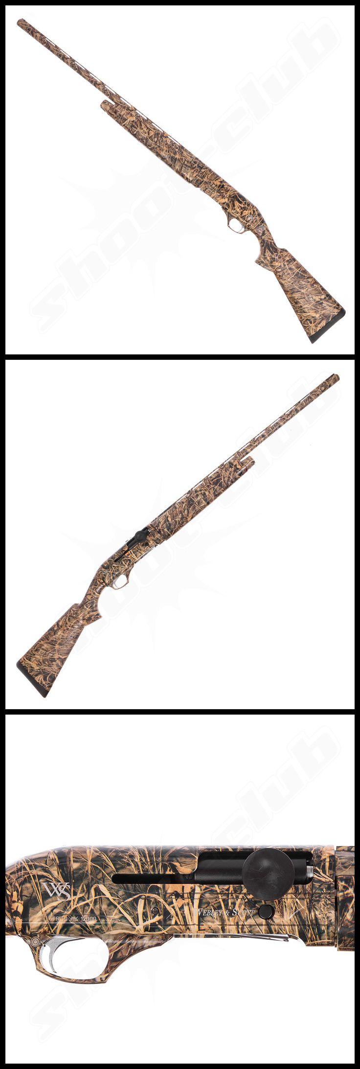 Webley & Scott 812 Camo Inertia, SLF 12/76    - weitere Informationen und Produkte findet Ihr auf www.shoot-club.de -    #shootclub #guns
