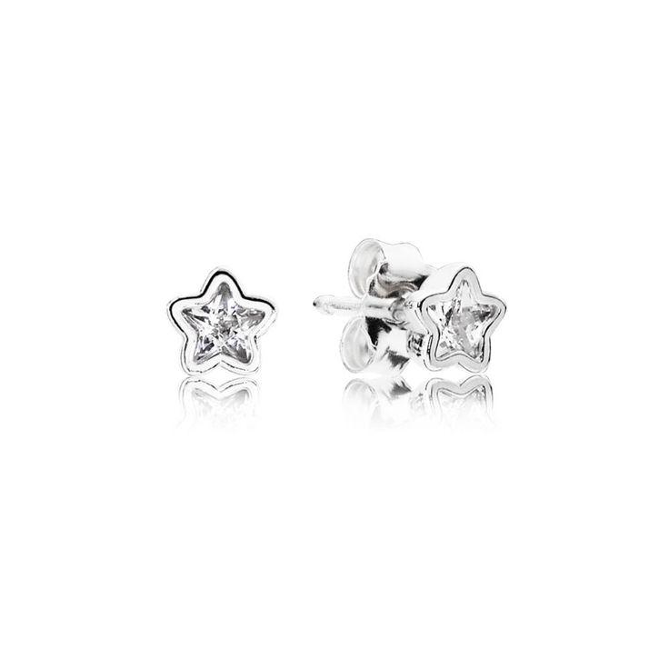 Pandora Star Shine Stud Earrings