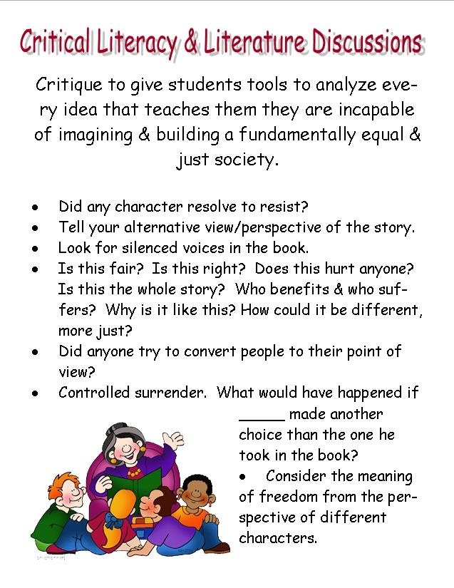 critical thinking discussion questions Six sample critical thinking skills questions that are typical of an insight assessment generic adult level test instrument.
