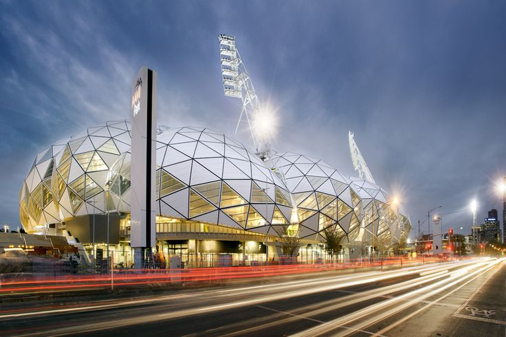 AAMI Park Stadium, Melbourne. Melbourne's largest 'rectangle' formation stadium for Soccer, Rugby and Rugby League.