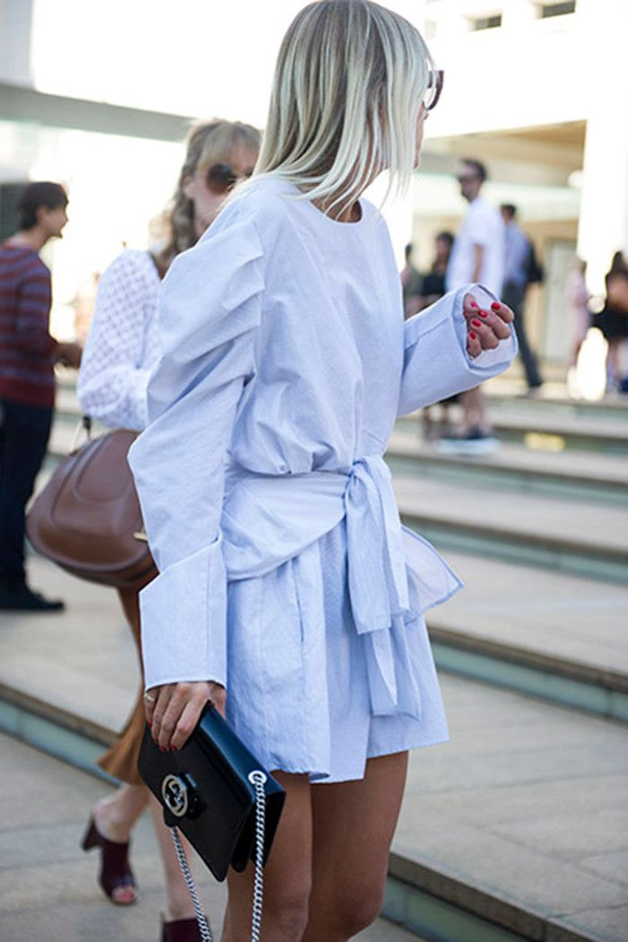 How To Wear Your Shirt Like A Street Style Pro | News | Grazia Daily