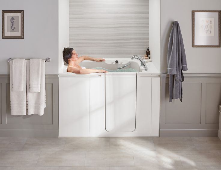 Design your walk-in bath to suit your style and your needs. Select your tub  color, fixture finish and even your LuxStone marble bath walls for a brand  new ...
