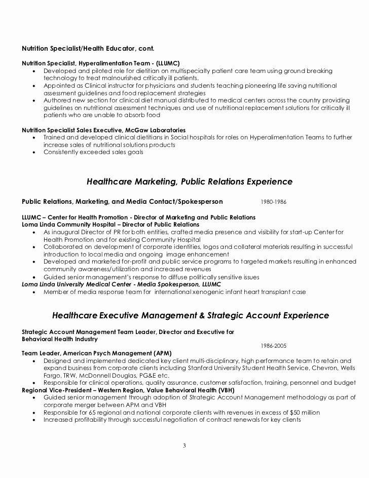 25 entry level dietitian resume in 2020 sample resume