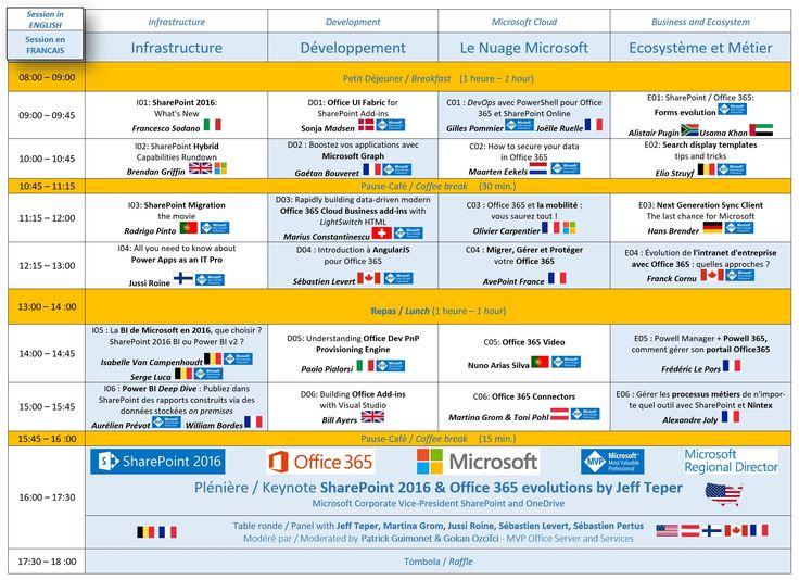 Updated agenda for SPS Paris 2016 http://www.spsevents.org/city/Paris/Paris2016