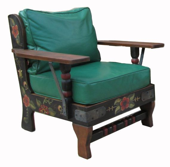 Amazing Monterey, Early California Style Chair  Available For Purchase