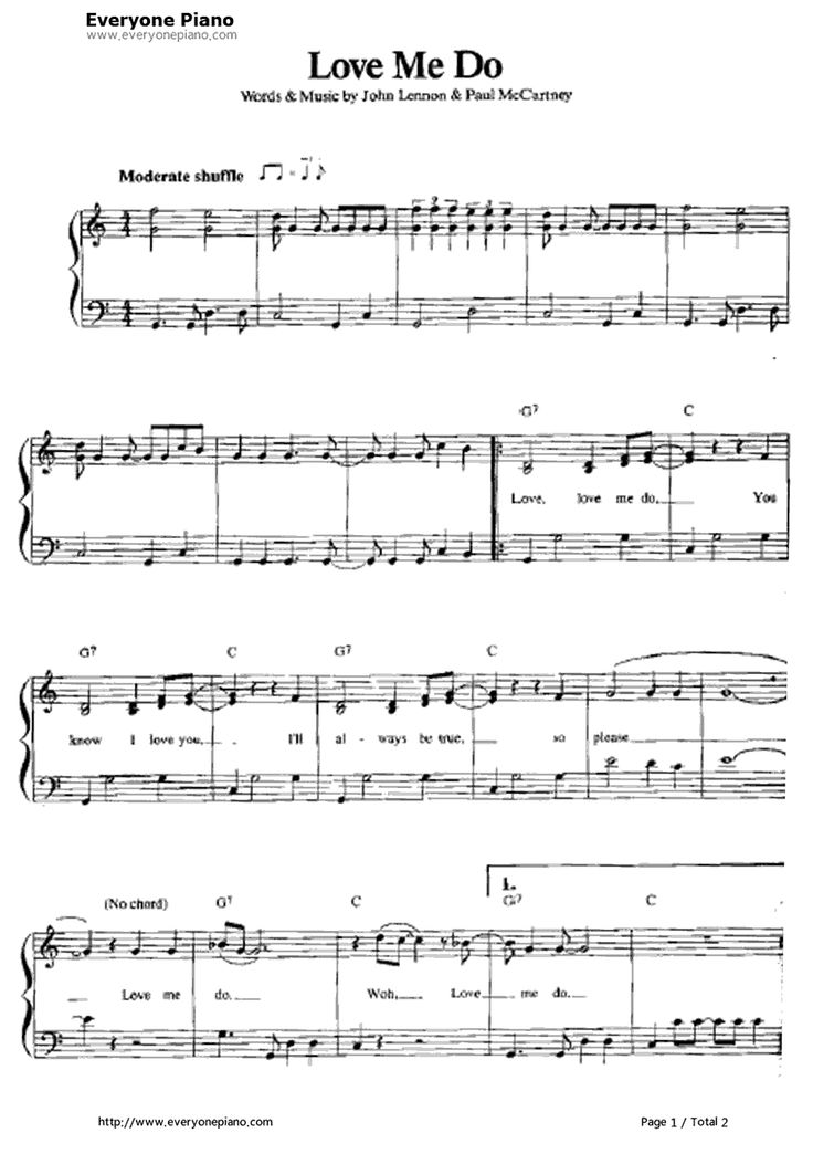 74 best partitions de musique images on pinterest sheet music free love me do piano sheet music is provided for you love me do is the beatles first single backed by fandeluxe Images
