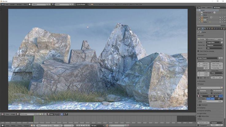 Blender Tutorial: Low-Poly Rocks and Assets