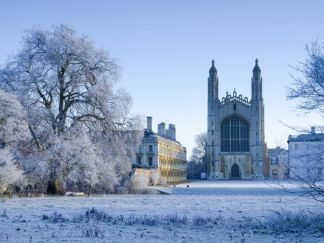 Brrrrrrrrrrrrr! Cambridge is sooooo cold in winter!