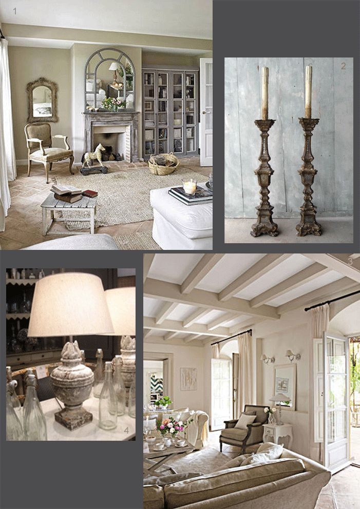 whether it's white, grey or buff, chalky tones of a pale sitting room create a relaxing & calming sanctuary.