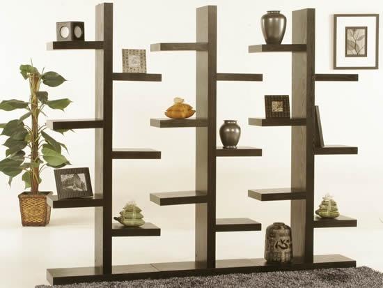 Walnut Tree Shelf - Diamond Sofa