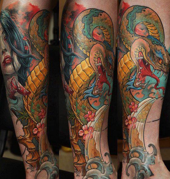 Tattoo Artist - Dmitriy Samohin | Tattoo No. 6275