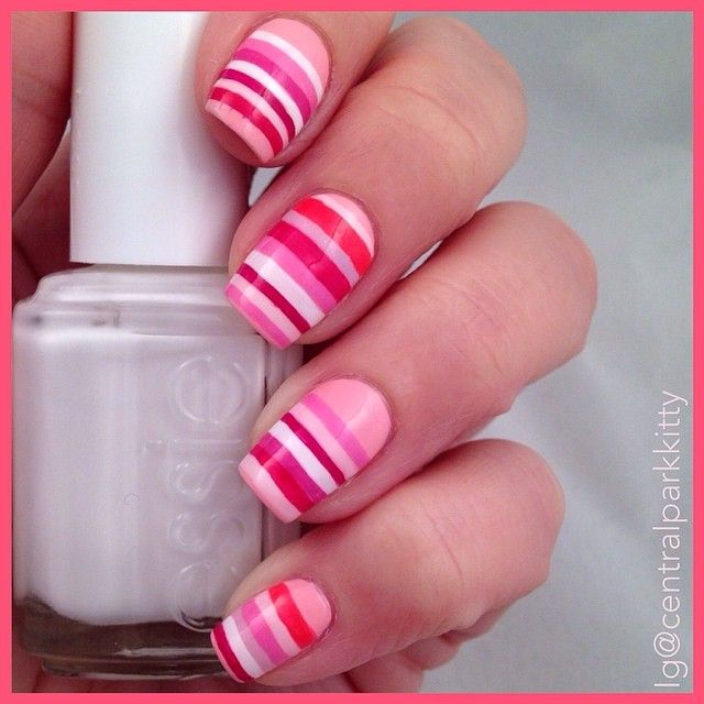 centralparkkitty #nail #nails #nailart - 476 Best Cute Extra Girly Nails Images On Pinterest Make Up