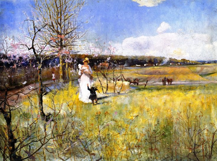Springtime - Charles Conder