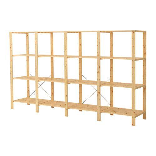 IKEA - HEJNE, 4 sezioni/ripiani