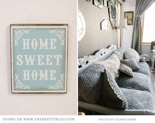 9 best images about home sweet home on pinterest sofa for Home sweet home sofa
