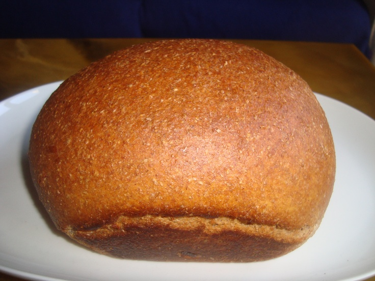 Wholewheat marmalade bread