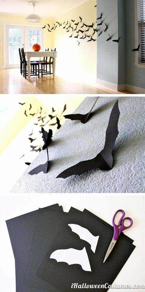42 Super Smart Last Minute DIY Halloween Decorations to Realize