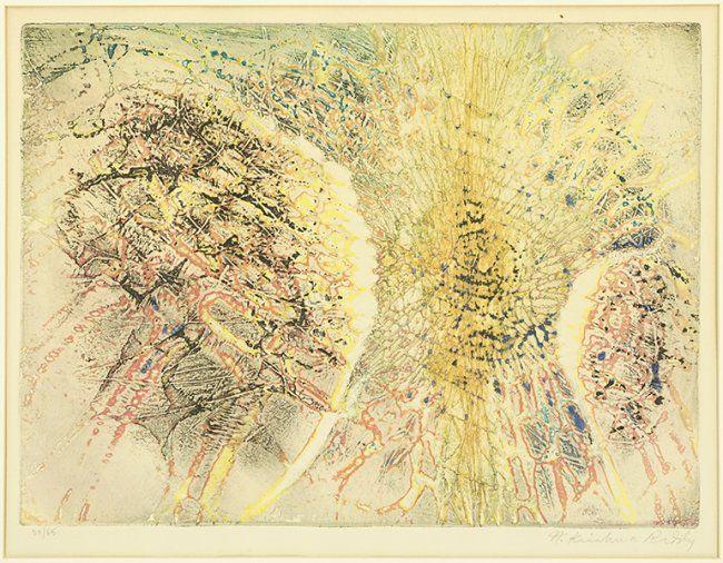 Krishna Reddy (Indian, B. 1925) Composition. : Lot 1706118