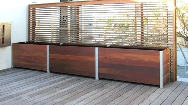 Image Result For Modern Planter Bench Large Wooden Planters Wooden Planter Boxes Large Wood Planter Boxes