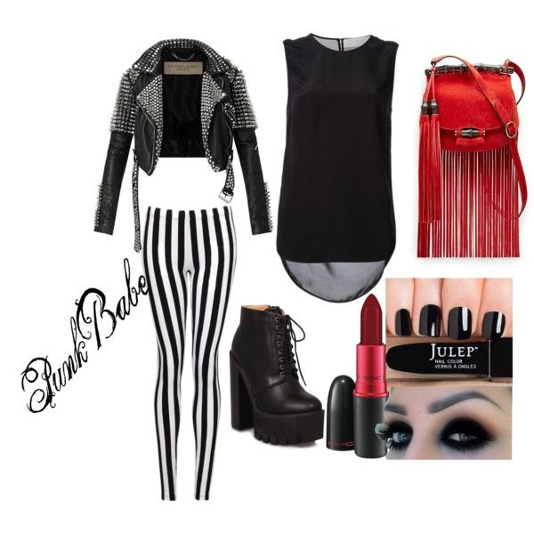 """punk babe"" by misserica92 on Polyvore"
