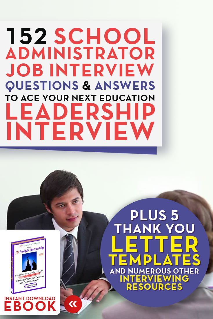 Click to learn more: A+ Principals' Interview Edge (2nd Edition) contains 152 principal / administrator specific interview questions and potential answers to prepare you for your next interview. In today's competitive marketplace, you need to be fully prepared and nothing will have you more prepared to ace an interview than knowing the questions in advance!