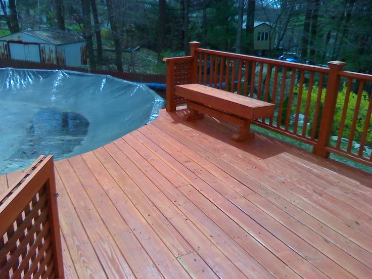 124 Best Images About Above Ground Pool Decks On Pinterest