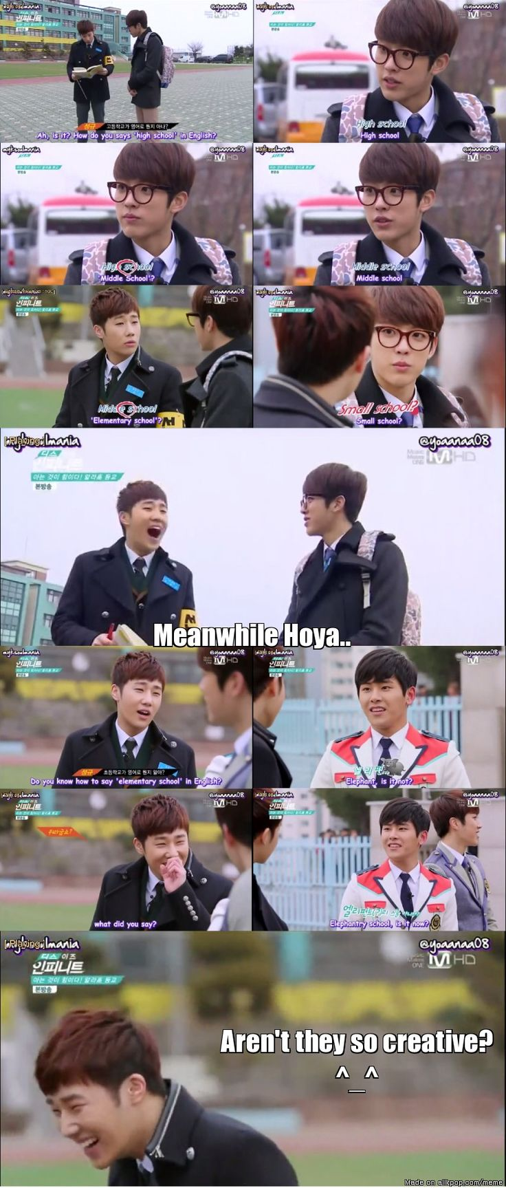 English Battle: Sungyeol vs. Hoya | allkpop Meme Center