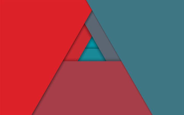 Hämta bilder triangeln, konst, android, geometri, abstrakt material, kreativa