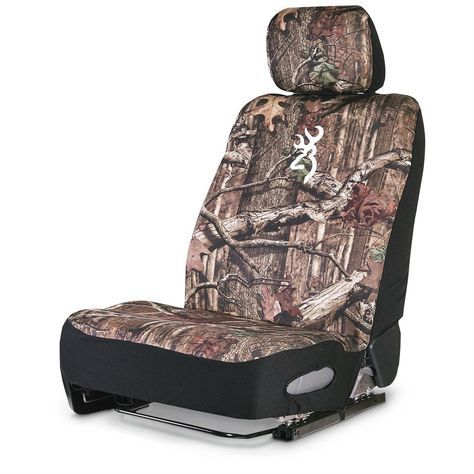 Neoprene Universal Low-Back Camo Seat Cover - 653099, Seat Covers at Sportsman's Guide