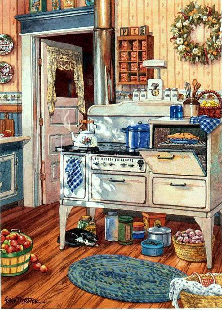 Erin Dertner   Comfy Kitchen   Art Prints And Posters