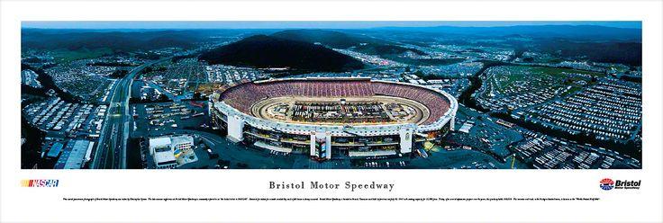 Bristol Motor Speedway Panoramic Picture (Night) - $29.95