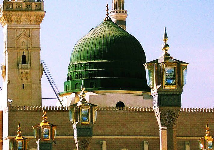 The Green Dome of Msjid Nabawi