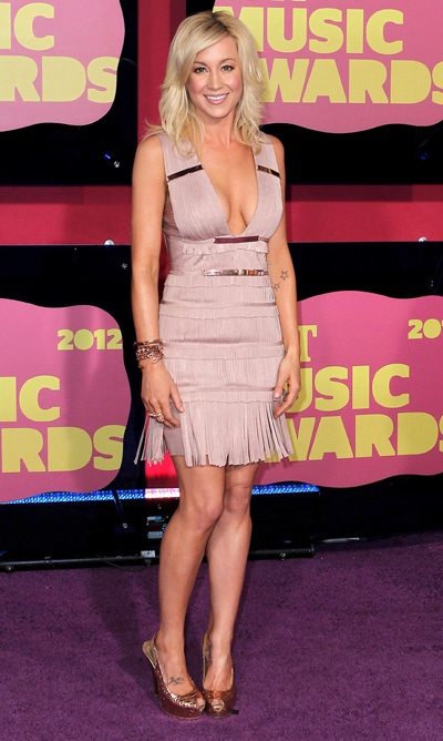 Kellie Pickler, Miranda Lambert attend CMT Music Awards