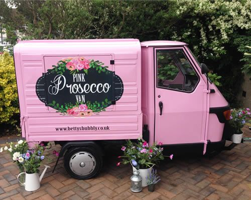 Pink Prosecco Van 3 Come and see our new website at bakedcomfortfood.com!