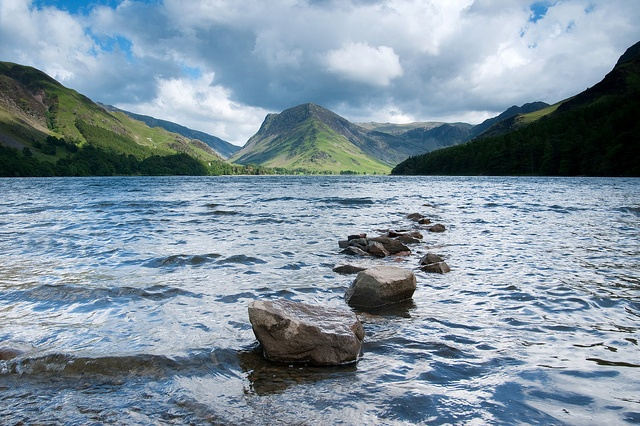 Buttermere Lake, The Lake District, England