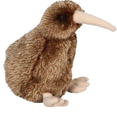 Brown Kiwi Bird Toy with Sound