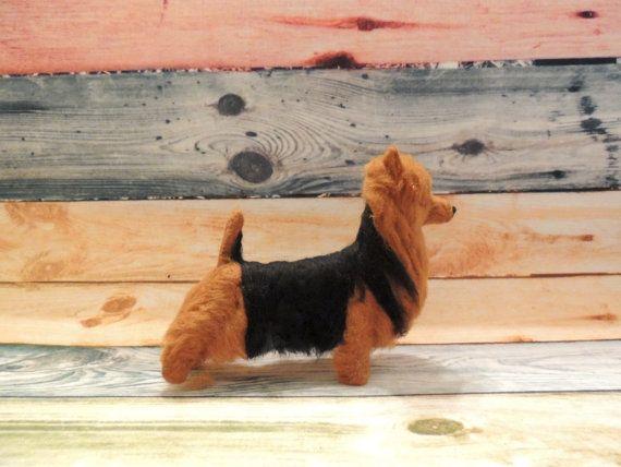 OOAK Australian Terrier Soft Sculpture