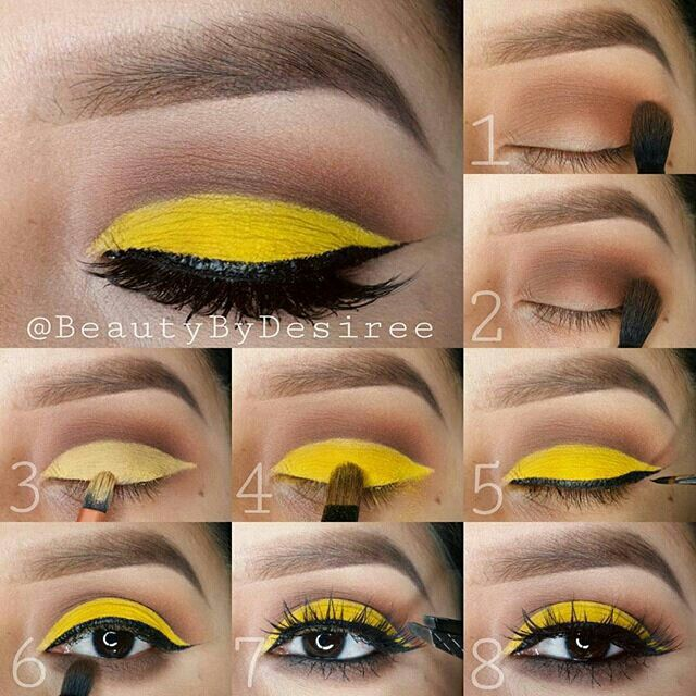 Inspired by Nikkie tuts..minions makeup