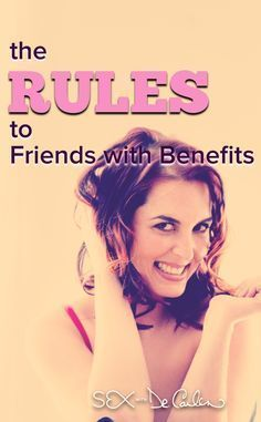 The Rules to Friends with Benefits via Sex with Dr. Carlen @drcarlen