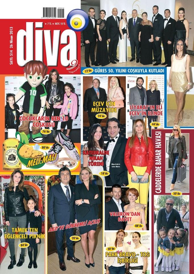 Diva Magazin Dergisi, 26 Nisan sayısı yayında! Hemen okumak için: http://www.dijimecmua.com/divamagazin/