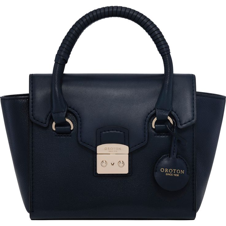 Getty Flap Over Mini Tote // Oroton