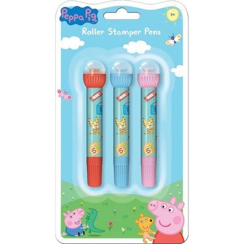 Peppa Pig Roller Stamper Pen Set