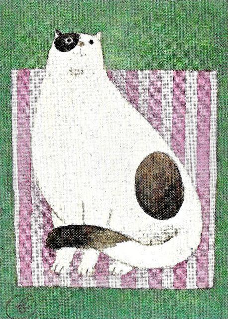 KATZENSKIZZEN (1980)  Jan Balet