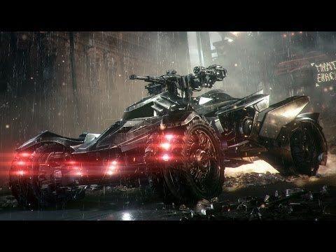 Official Batman: Arkham Knight -- Batmobile Battle Mode Reveal - YouTube