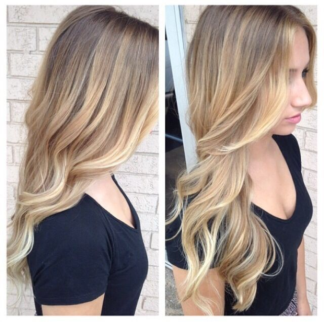 Loved this blonde bayalage my hairdresser did on me!